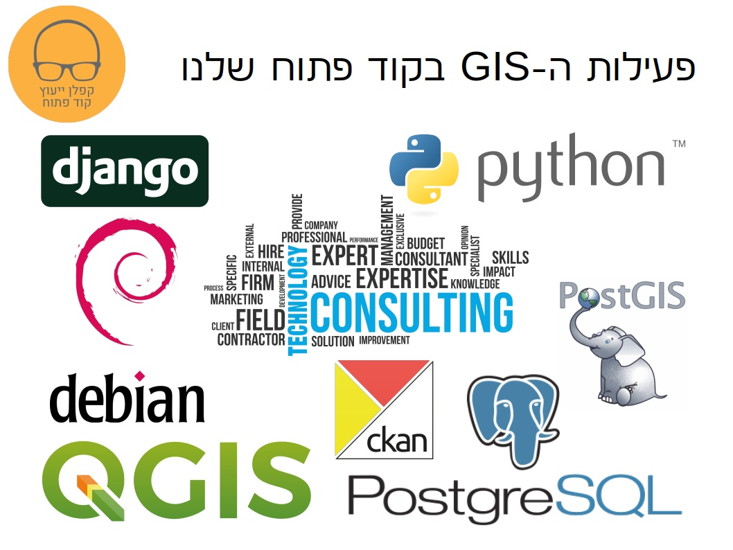 פעילות ה-GIS בקוד פתוח שלנו